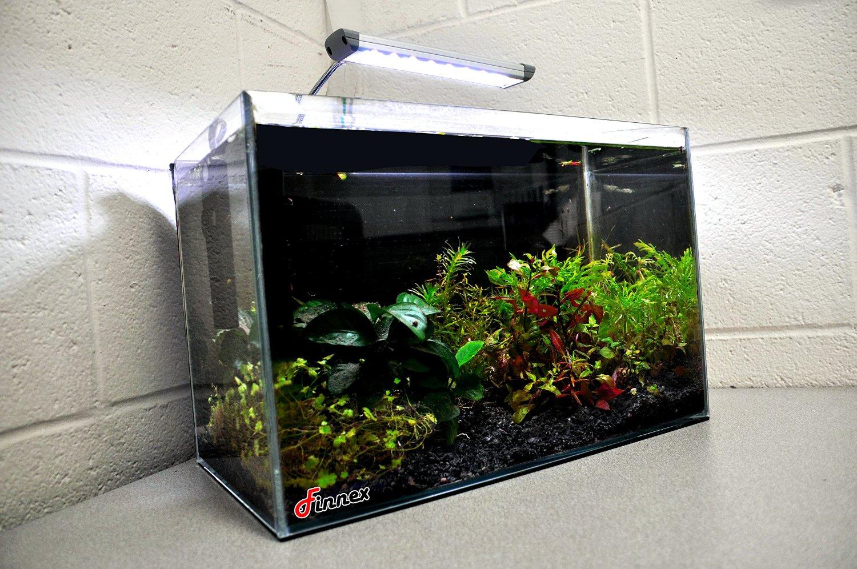 Finnex FugeRay Planted + Cliplight Aquarium LED Light - Plus Moonlights + 10