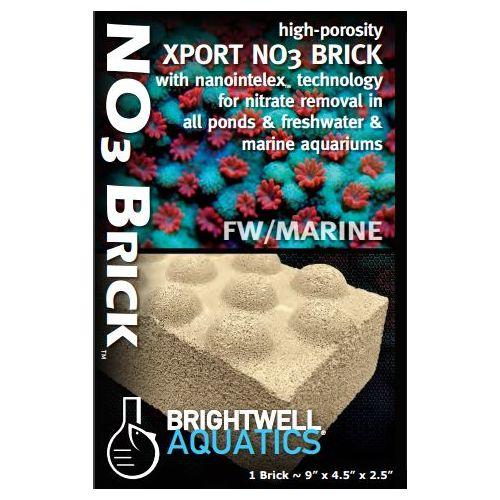 Brightwell Aquatics Xport NO3 Dimpled Brick  - Nominal 9
