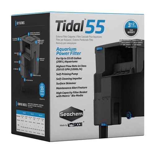 Tidal 55 Aquarium Power Filter by Seachem]