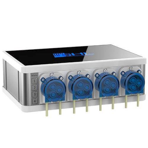 GHL ProfiLux Dosing System 2.1, SLAVE 4 Pumps, Black by GHL]