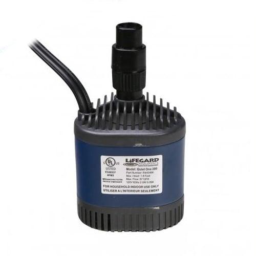 LifeGard Quiet One Pro 200 Pump 87 GPH by Lifegard]