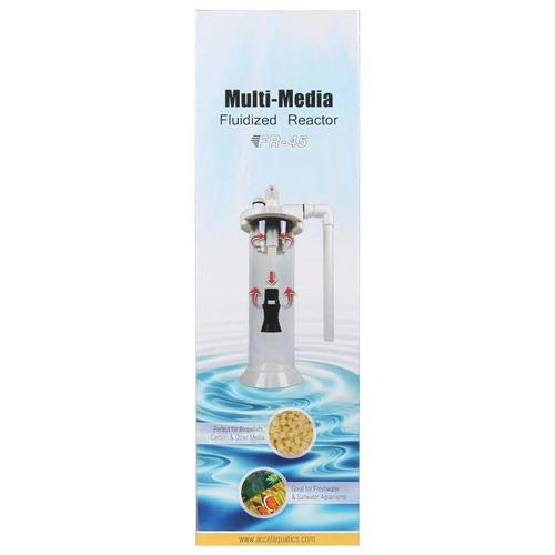 Accel Aquatics BioPellet and Filter Media Reactor - FR-45 by AquaCave]