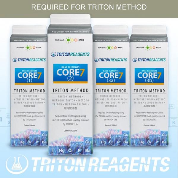 Triton Core7 Base Element - Triton Method - 4 x 1000ml Set - New Formula by Triton]