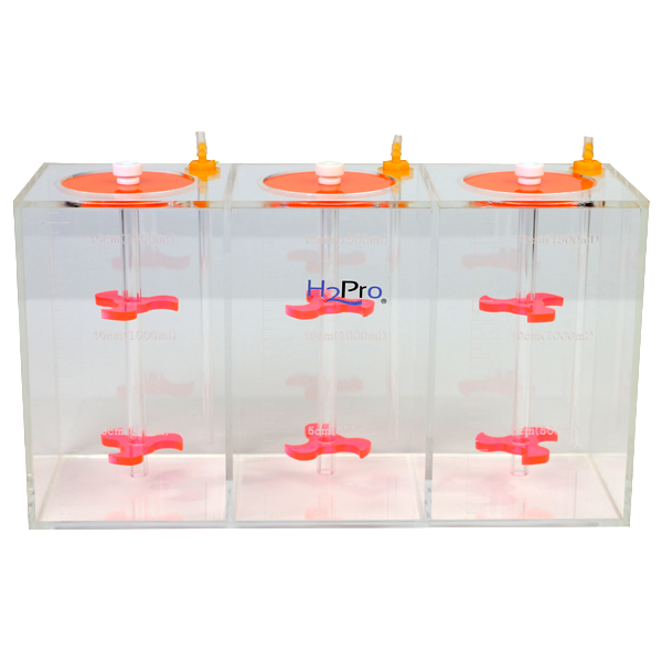 Liquid Storage Dosing Container 3 x 1.5 Liters by AquaCave]