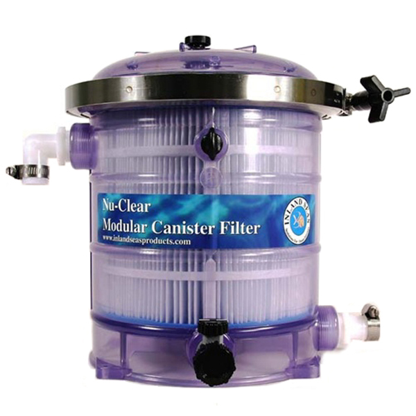 Nu-Clear Modular Canister Filter Model 530 with Micron Cartridge by Nu-Clear]