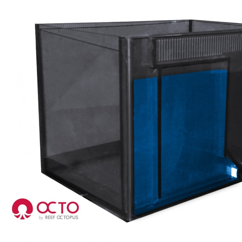 OCTO LUX 32gal Aquarium System with White Cabinet by Reef Octopus]