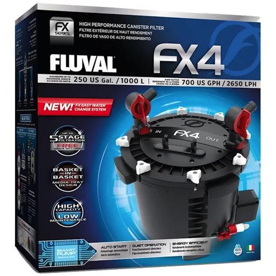 Fluval FX4 Canister filter by Hagen]