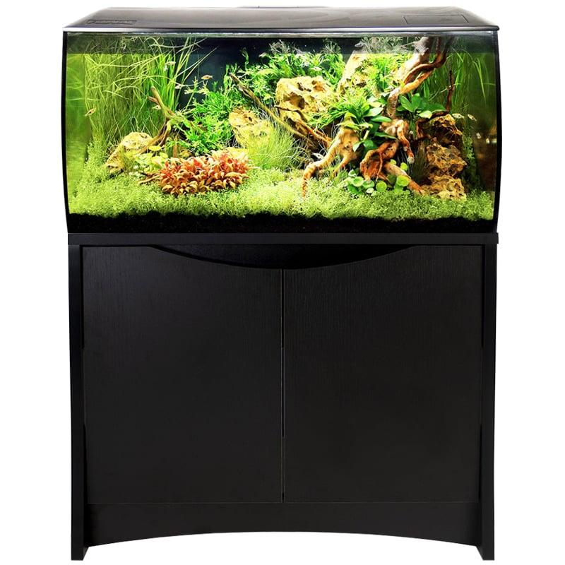 Fluval Flex 32 Gal. Aquarium Kit - Black by Hagen]