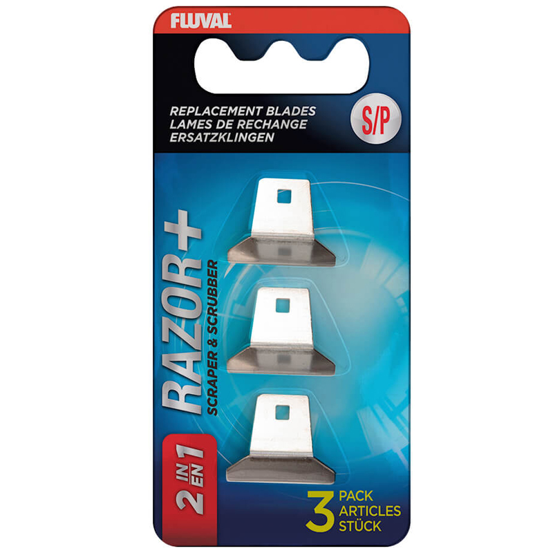 Fluval Razor Scraper Blade, Medium - 3 Pack