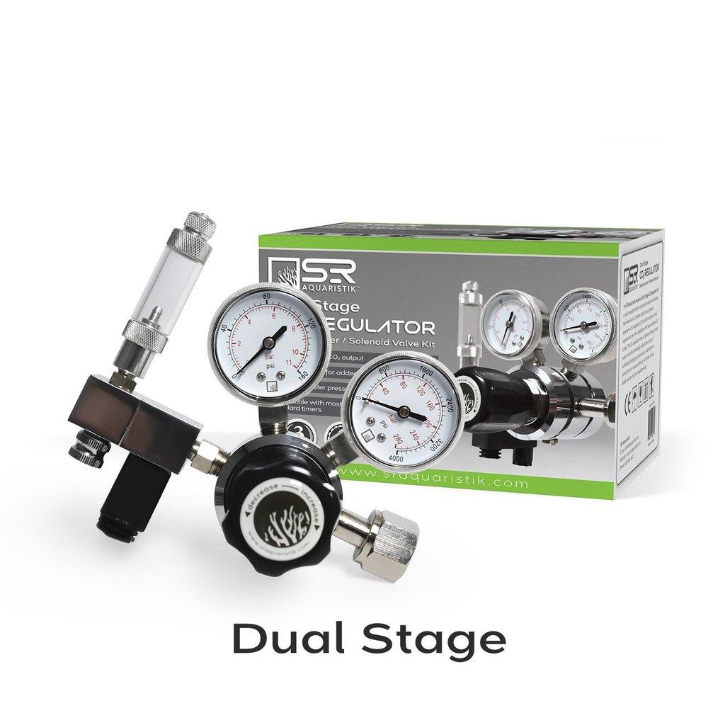 SR Aquaristik Aquarium Dual Stage CO2 Regulator Kit by SR Aquaristik]