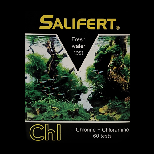 Salifert Freshwater Chlorine + Chloramine Test Kit by Salifert]