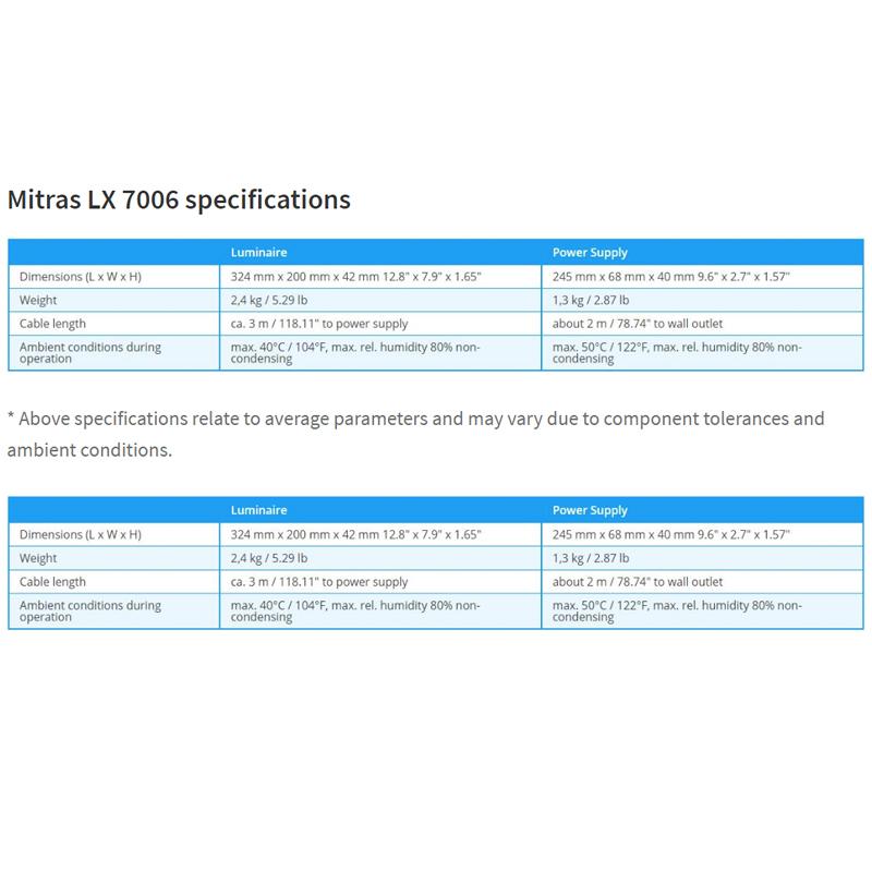Mitras LX 7006, black - Freshwater