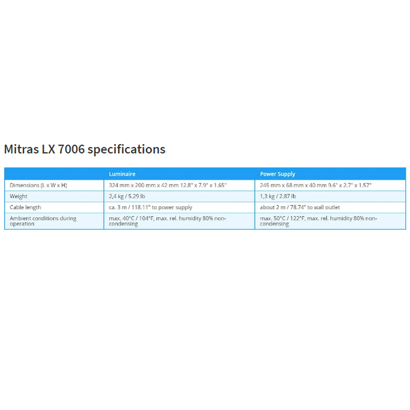 Mitras LX 7006, Silver/ White - Freshwater by GHL]