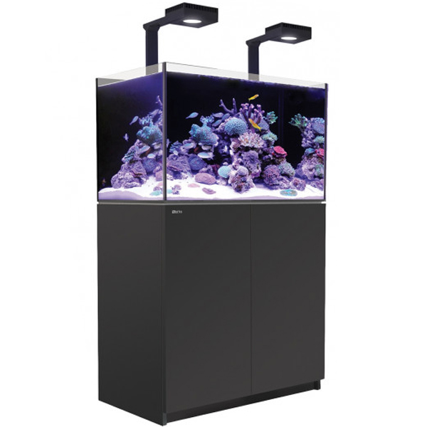 Red Sea Reefer 250 Deluxe, 65 Gal. With 2X ReefLED 90 - Black by Red Sea]