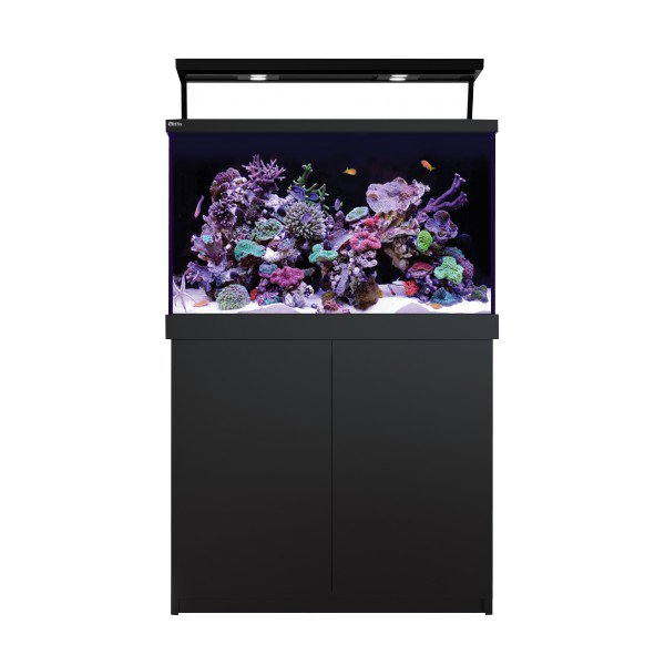 Red Sea Max S 400 Complete System, 110 Gal. With X2 ReefLED - Black by Red Sea]