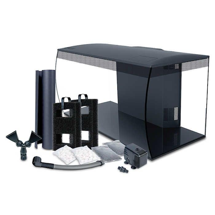 Fluval Flex 32 Gal. Marine Aquarium Kit - Black by Hagen]