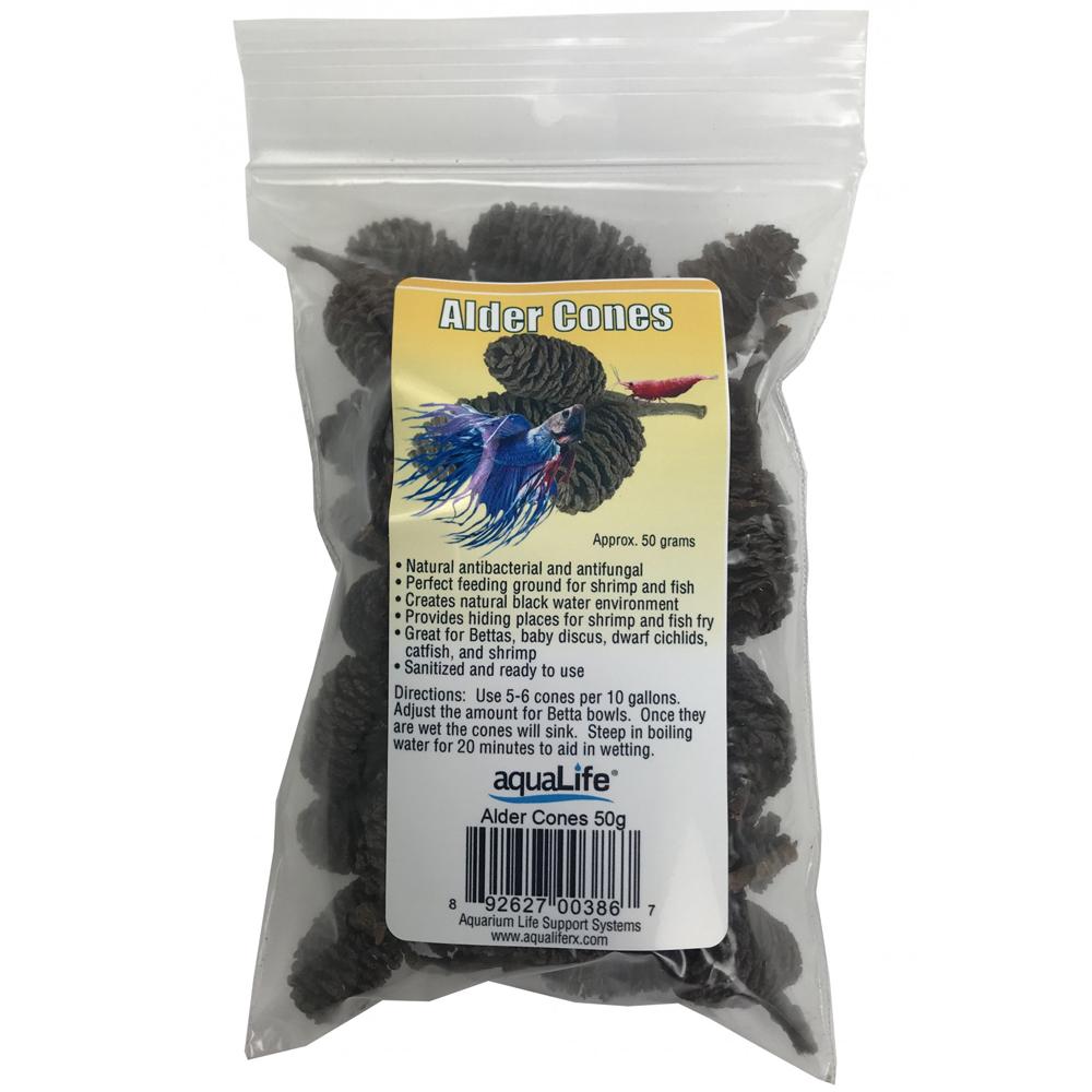 AquaLife Alder Cones, 50 gr. by AquaLife]