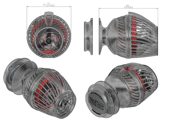 Hydor Koralia 1350 Powerhead, 3rd Generation