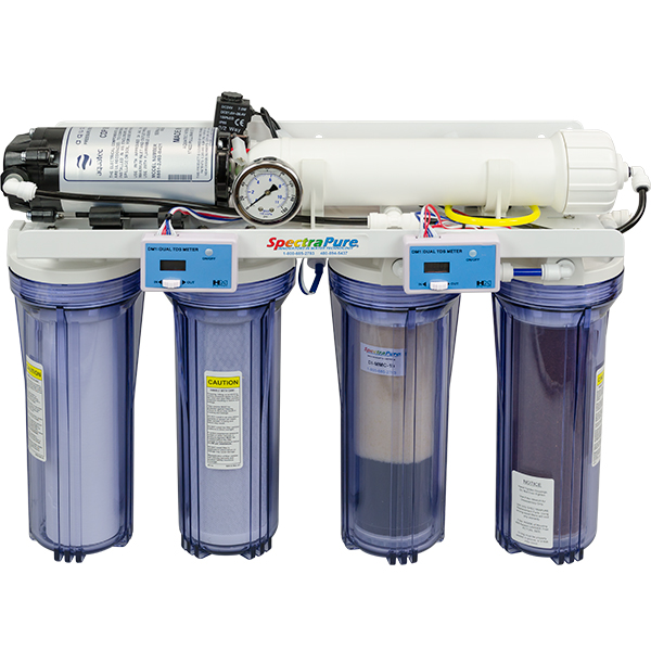 Spectra Pure MaxCap 1:1 Ultra Low Waste Water Ratio RO/DI System - MMC-RODI-100-PPLUS