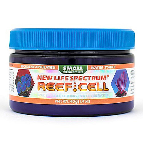 New Life Spectrum Naturox Series- Reef Cell Coral Food Small 40g by New Life Spectrum]