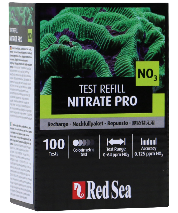 Red Sea Nitrate Pro Test Kit - Reagent Refill Kit by Red Sea]