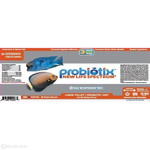 New Life Spectrum Probiotix - Large Sinking Pellet by New Life Spectrum]