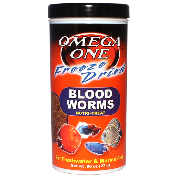 Omega One Freeze Dried Blood Worms by Omega One]