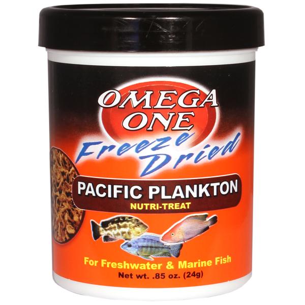 Omega One Freeze Dried Pacific Plankton Nutri Treat, 0.85 oz.