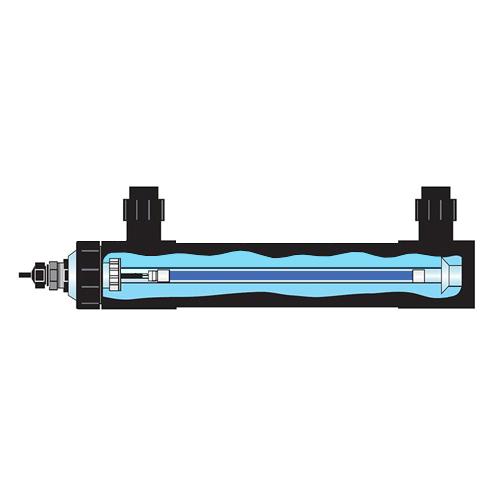 Quartz Sleeve 65, 130 & 150 HO Watts by Pentair Aquatics]