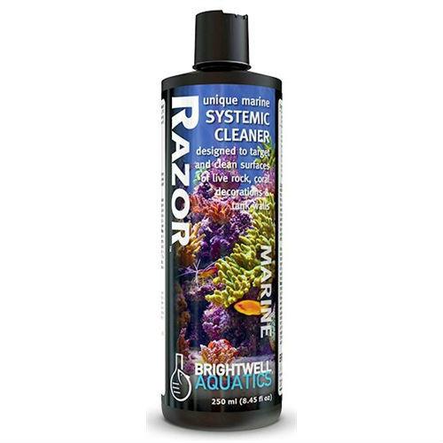 Brightwell Aquatics Razor Marine, Systemic Cleaner, Coral Safe, 500 ml. /17 fl. oz. by Brightwell Aquatics]
