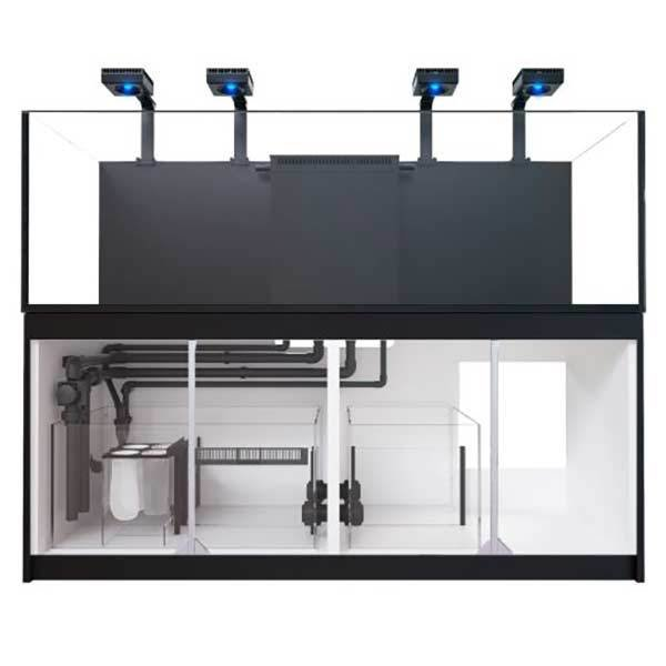 Red Sea REEFER 900 3XL Deluxe System, 240 Gal. With 4X ReefLED 90 - Black by Red Sea]
