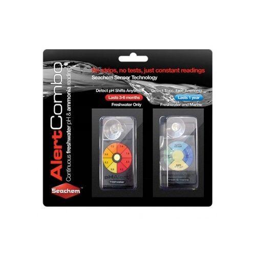 Seachem Alerts Combo Pack Ammonia & PH Sensors