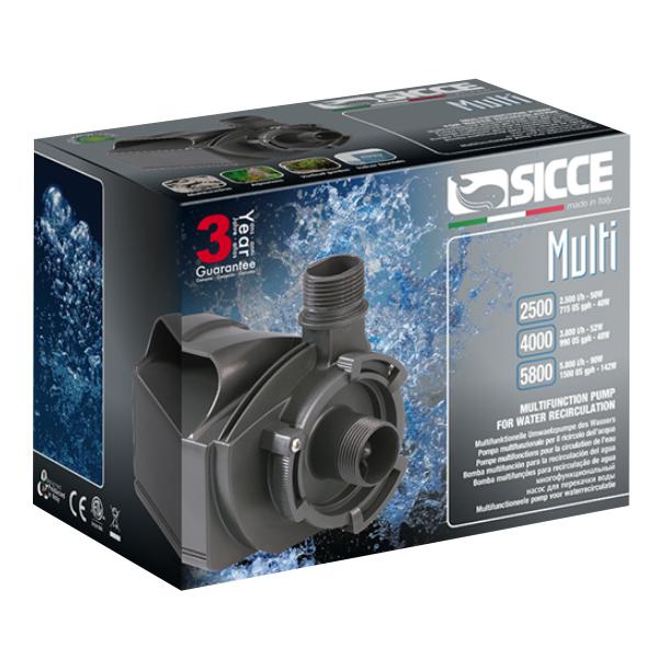 Sicce Multi Quiet Pump 5800 - 1500gph by Sicce]