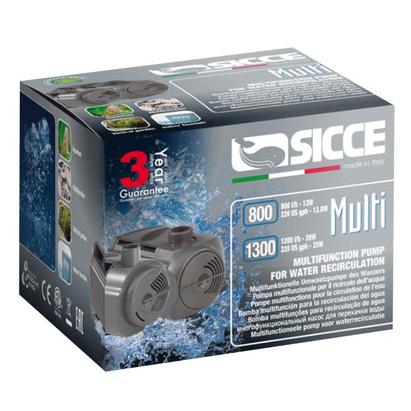 Sicce Multi Quiet Pump 800 - 220gph by Sicce]