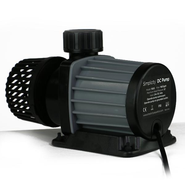Simplicity DC-2100 Water Pump, 2,100GPH, 65W