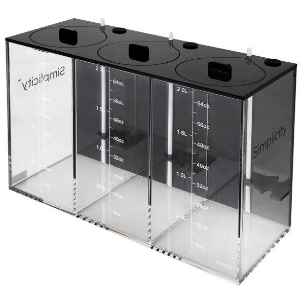 Simplicity Dosing Container- 3 x 2 Liter