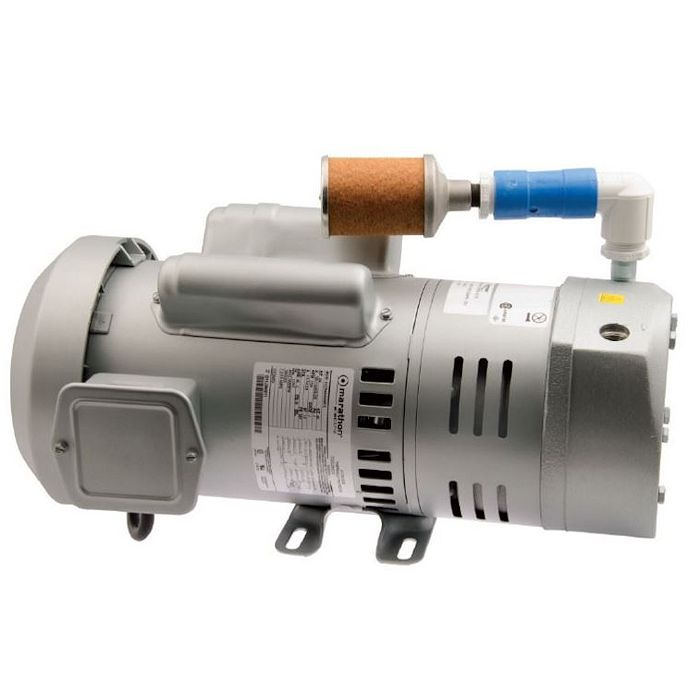 Sweetwater Rotary Vane Compressor, AQ73, 3/4 HP, 3-Phase by Sweetwater]