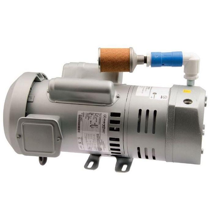 Sweetwater Rotary Vane Compressor, AQ73, 3/4 HP, 3-Phase