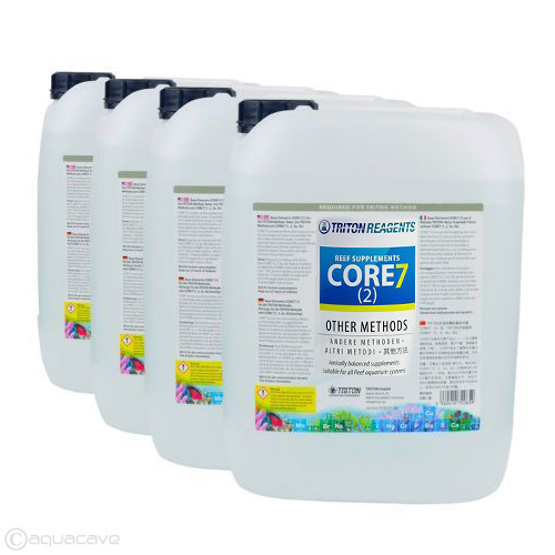 Triton Core7 Reef Supplements  - Other Methods - New Formula