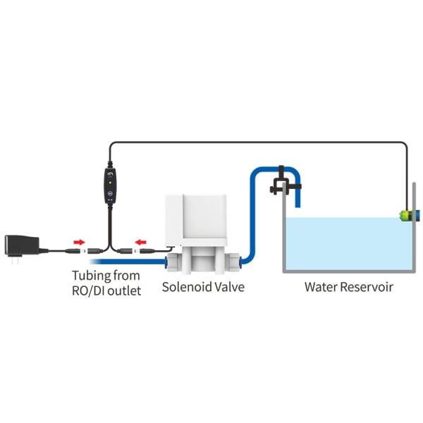 XP Aqua RO/DI Flood Guardian - Electronic Auto Shut Off Valve Kit (AKA The Marriage Saver) by XP AQUA]