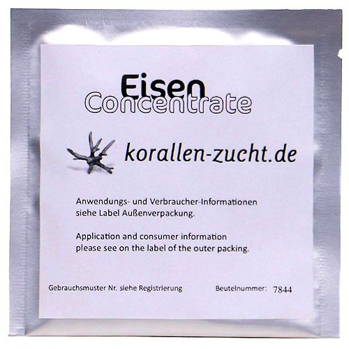 ZeoVit Iron Concentrate Tab - Slow Release, Automatic Delivery, 5 Gel Tabs by ZeoVit]