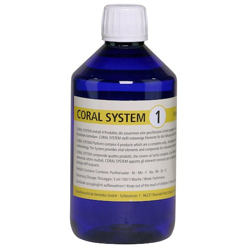 Zeovit Coral System 1, 500 ml. by ZeoVit]