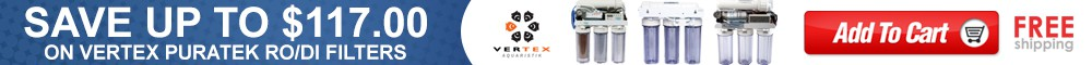Save up to 117.00 on Vertex Puratek RO/DI Filters