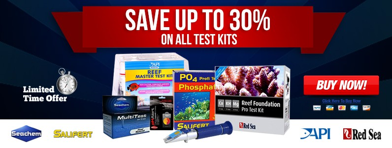 Save up to 30% om all Test Kits
