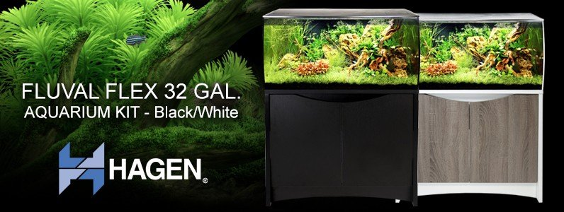 Fluval Flex 32 Gal. Aquarium Kits